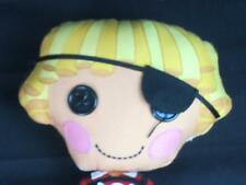 LALALOOPSY PIRATE PATCH RED CROSSBONES SHIRT BOY PLUSH DOLL PLASTIC BUTTON EYE