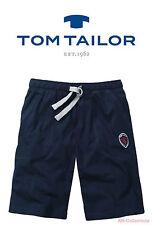 Tom Tailor Herren Bermuda blau Uni 1er Pack 54
