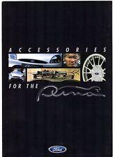 Ford Puma Accessories 1997-98 UK Market Foldout Sales Brochure