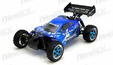 Exceed RC Froza 1/10 Nitro Gas .18 Engine Remote RC RTR Buggy Storm Blue