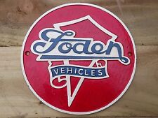 FODEN Vehicles Lorry lovely Cast Heavy Metal SIGN (cm)