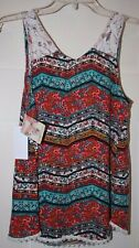 Women's Belle Du Jour Printed Tank Top - Size Small