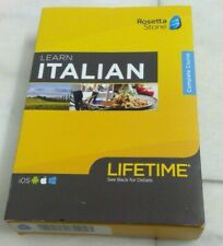 🌟🎈 Rosetta Stone ITALIAN Complete Course Lifetime Subscription iOS Android PC