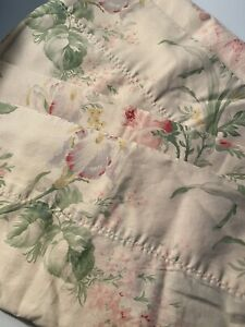 Ralph Lauren THERESE Standard Pillowcases Vintage Blue Label Italy Floral Set 4