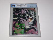 Batman: The Killing Joke PGX 10 Platinum MINT-Gem Green Tittle 1st Print Not-9.8