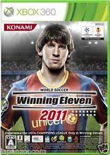 Used Xbox 360 Winning Eleven 2011 MICROSOFT JAPAN JP JAPANESE JAPONAIS IMPORT
