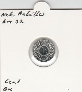 Netherlands Antilles 1 cent 1993 BU - KM32