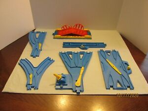 Thomas the Tank Engine Trackmaster --TOMY Blue Track -- Switch Lot