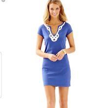 🔥Lilly Pulitzer🔥Size L 'Brewster' Contrast Trim T-Shirt Dress Retail $88