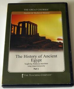 The Great Courses - The History of Ancient Egypt Part 1 (2 DVDs with Lectures)