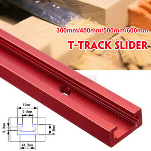 600mm Aluminium Alloy T-Track T-Slot Miter Jig DIY Table Woodworking Router  M