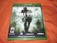 Call of Duty Modern Warfare Remastered Microsoft Xbox One Brand New U.S. Version