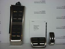 Original Audi Pedalkappen- Set aus Edelstahl, Audi A6/ A7 Modell 4G, Automatik