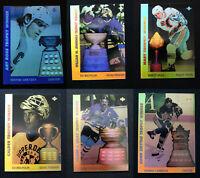 1991-92 Upper Deck Award Winners Hologram Hockey Cards Complete Your Set U Pick
