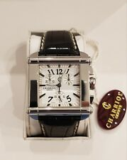 CHARRIOL ACTOR SQUARE XL CHRONOGRAPH - New in Box WITH ORIGINAL PAPERS -