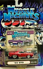 Muscle Machines  #01-18 Candy Apple Red Brand New! (RARE)