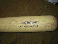 MICKEY MANTLE YANKEES VINTAGE BASEBALL BAT H&B LOUISVILLE LEAGUER FULL SIZE Used