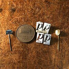More details for porsche 968 launch pin badges enamel medal bronze collectable 1992