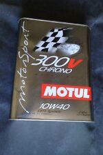 """Motul 300v 10/40 """"Chrono"""" Motor Oil 2 Liter"""