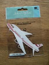 EK Success Jolee's Boutique Aereo/Aeroplano di abbellimento NUOVO con confezione
