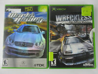 XBOX Console Game Lot WORLD RACING & WRECKLESS THE YAKUZA MISSIONS Excellent!!