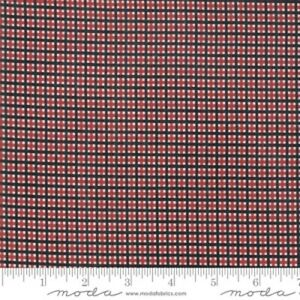 Moda Merry Starts Here by Sweetwater 5737 11 Red/Black Plaid   COTTON