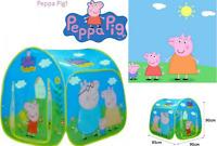 Tenda casetta in tela tessuto peppa pig gioco bambini