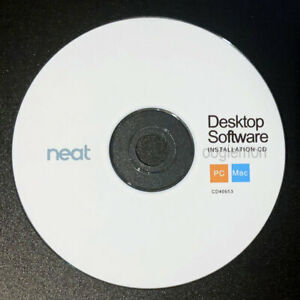 Setup Install CD ROM for Neat Desk ND-1000 Scanner Driver for PC/Mac