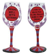 Our Name is Mud ONM4024612 Drinks Well Wine Glass