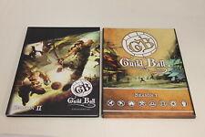 Guild Ball Season 1 & 2 Rulebooks (U-B4S4 197345)