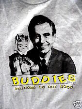 Mr. Rogers Neighborhood Welcome to our Hood Shirt (Size Large)