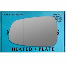 Left side Wide Angle wing mirror glass for Tesla Model S 2012-2020 heated plate