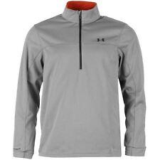 Under Armour 2015 Mens UA Elemental 1/2 Zip Golf Pullover -  Gray Heather Size M