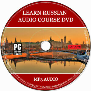 Learn To Speak Russian - Complete Language Training Course On DVD Disk MP3 & PDF