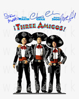 Three Amigos! signed 8x10 photo poster autograph RP reprint