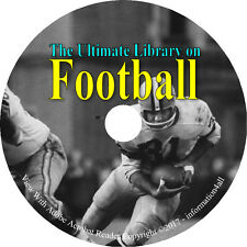 67 Books on DVD – Ultimate Vintage Library on Football, Spalding Guides