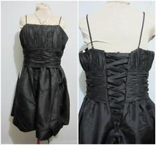 "MIA SOLANO ""NWT"" Evening Formal DRESS Sz 24 BLACK Bridal Wedding Corset rrp$250"