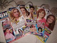 Lote revistas Gran Hermano GH Revista oficial Pack de 5 revistas