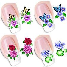 C FIORI adesivi ad acqua per unghie FLEURS ONGLES MANICURE nail art water decals