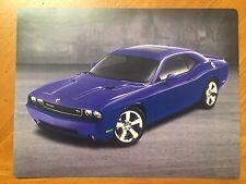 Tin Sign Vintage Dodge Challenger Purple