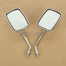 Rectangle Rearview Mirror Fit Honda VTX 1300 C R S RETRO GL 1500 1800 Cruiser