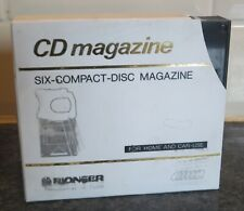Pioneer Six-Compact Disk Magazine and Case