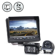 Backup Camera System w/ Side Camera RVS-7706135, Weatherproof, Rear View Camera