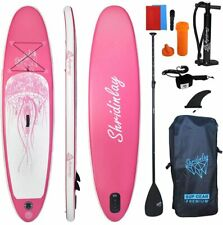 Shridinlay Inflatable Stand Up Paddle Board Kit, 15cm Thick with Accessories, Ad