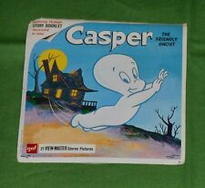 vintage CASPER THE FRIENDLY GHOST VIEW-MASTER REELS packet (missing booklet)