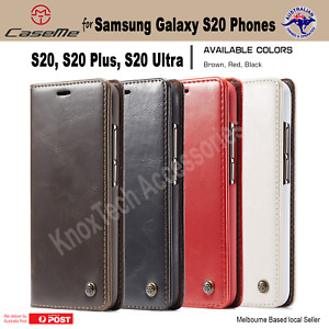 Luxury Magnetic Flip Cover Wallet Leather Case For Samsung Galaxy S20 Models