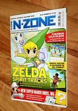 2010 Nintendo N-Zone Magazin Zelda Spirit Tracks Mario & Sonic Silent Hill Sega