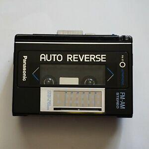 Panasonic RX-SA66 Stereo AM/FM Radio Portable Auto Reverse Cassette Player