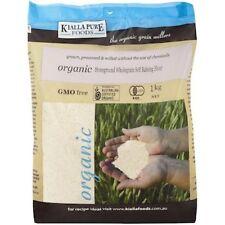 Kialla Flour Stoneground Wholemeal S/Raising Organic 1kg