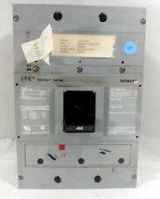 1 NEW SIEMENS JXD63L400 BREAKER TYPE JXD6-ETI 400A, 600V, 3POLE NNB